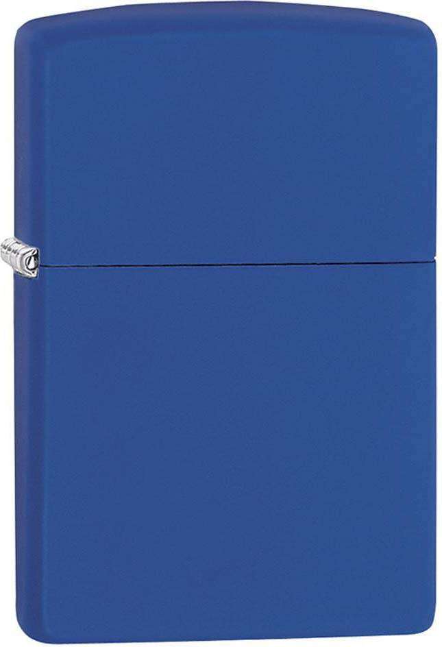 """Зажигалка Zippo """"Classic"""", цвет: синий, 3,6 х 1,2 х 5,6 см. 51440"""