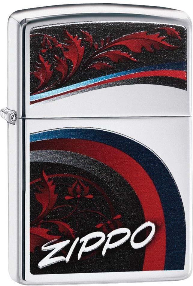 """Зажигалка Zippo """"Classic"""", цвет: серебристый, 3,6 х 1,2 х 5,6 см. 52902"""