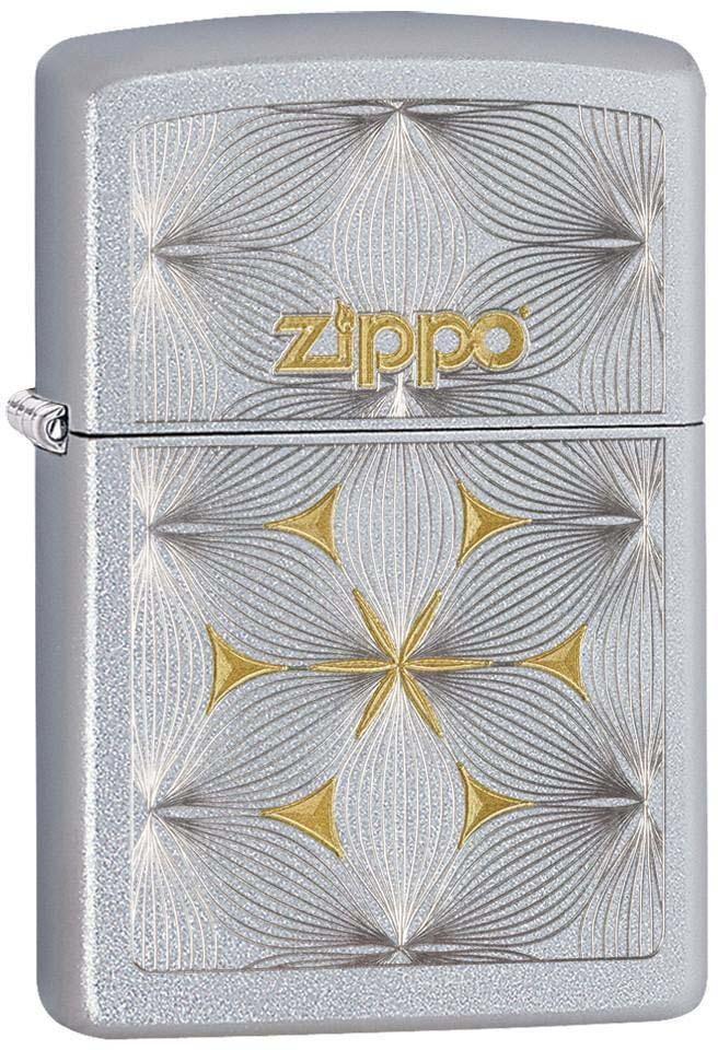 """Зажигалка Zippo """"Classic"""", цвет: серебристый, 3,6 х 1,2 х 5,6 см. 52908"""