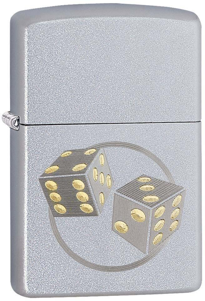 """Зажигалка Zippo """"Classic"""", цвет: серебристый, 3,6 х 1,2 х 5,6 см. 52909"""