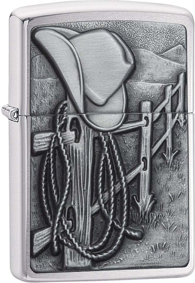 """Зажигалка Zippo """"Classic"""", цвет: серебристый, 3,6 х 1,2 х 5,6 см. 52914"""
