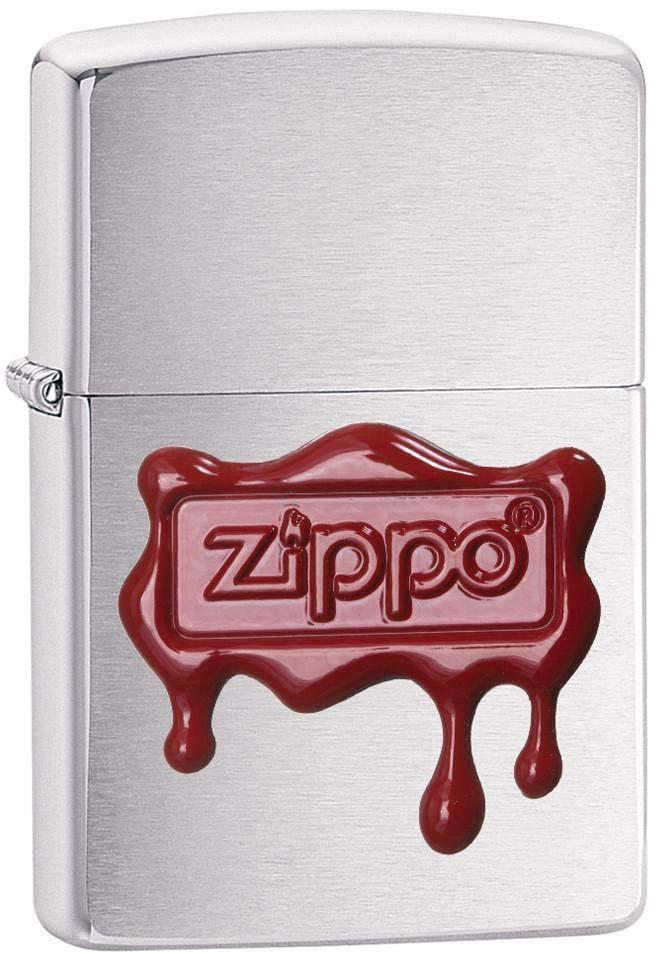 """Зажигалка Zippo """"Classic"""", цвет: серебристый, 3,6 х 1,2 х 5,6 см. 53592"""