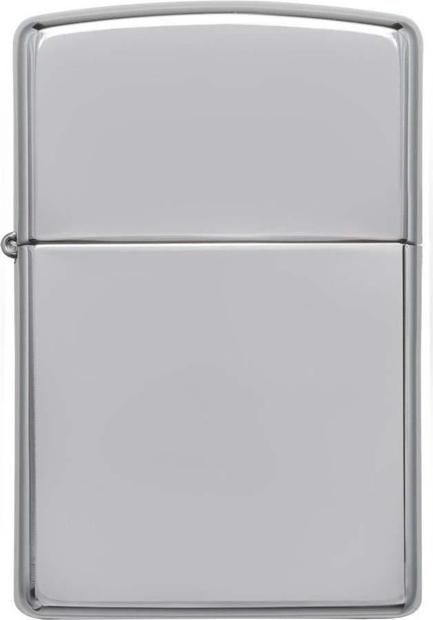 """Зажигалка Zippo """"Classic"""", цвет: серебристый, 3,6 х 1,2 х 5,6 см. 790"""
