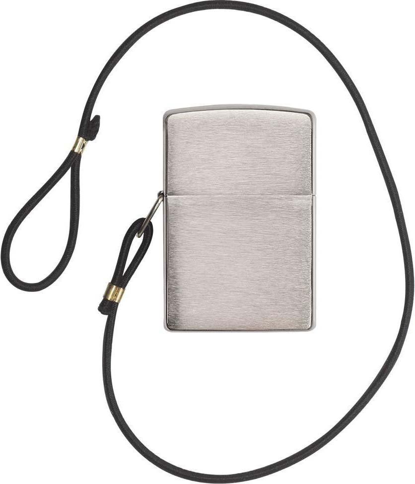"""Зажигалка Zippo """"Classic"""", цвет: серебристый, 3,6 х 1,2 х 5,6 см. 948"""