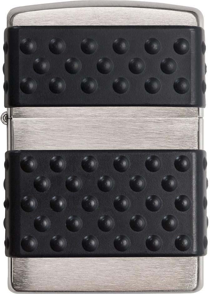 Зажигалка Zippo, цвет: серебристый, 3,6 х 1,2 х 5,6 см. 723