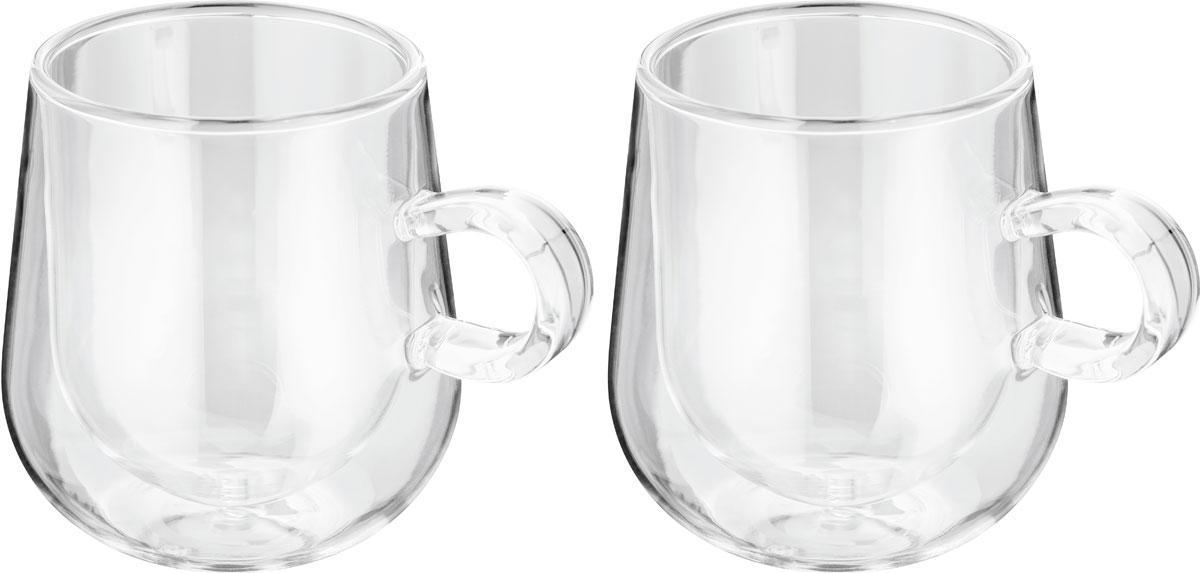 Набор чашек для латте Judge Double Wall, 275 мл, 2 штJDG35Набор чашек для латте Judge Double Wall - это стеклянная термопосуда с двойными стенками.Чашки сохраняют температуру напитка, не обжигают руки. Холодные напитки остаются холодными без дополнительного охлаждения. На стаканах не образуется конденсат. Футуристический дизайн. Закалённое стекло - устойчиво к царапинам и перепадам температур (от 0 до 100°С). Можно мыть в посудомоечной машине.