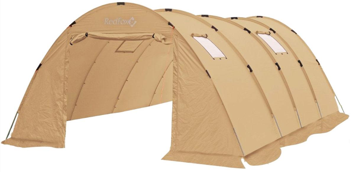 Палатка Red Fox Team Fox Light V2, 20-местная, цвет: светло-бежевый