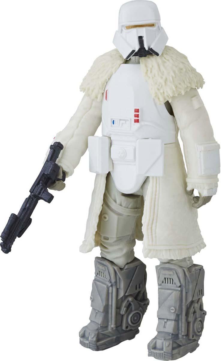 Star Wars Игрушка интерактивная фигурка RangeE0323EU4_E2761_RangeФигурка Star Wars создана в виде героя всеми любимой фантастической саги Звездные Войны. Фигурка из пластика проработана до мельчайших деталей и является точной копией своего прототипа в уменьшенном размере. Голова, руки и ноги фигурки подвижны. Все это сделает игру реалистичной и разнообразной. Такая фигурка непременно понравится поклоннику Звездных войн и станет замечательным украшением любой коллекции.