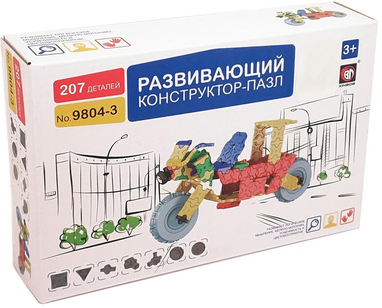 Пластиковый конструктор Умный Шмель 9-58-010843 умный шмель пластиковый конструктор мотоцикл
