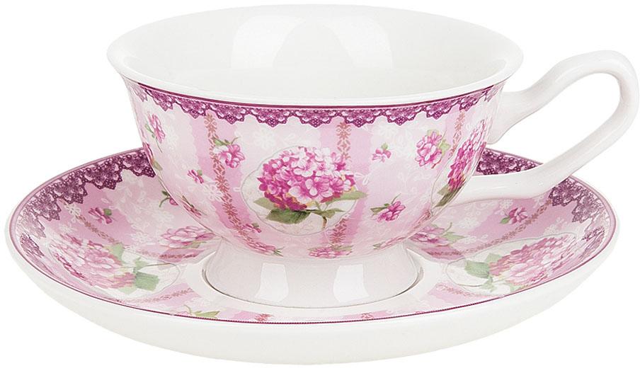 Набор чайный Nouvelle De France Розовая гортензия, 12 предметовM0661180Станет идеальным и незаменимым предметом сервировки для любого стола! Каждое изделие сочетает в себе оригинальность и изысканность.
