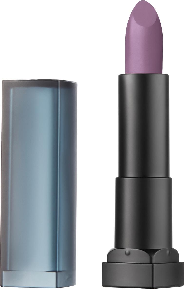 цена на Maybelline New York Увлажняющая помада для губ Color Sensational Пудровая коллекция, оттенок 25, Chilling Grey, 4,4 г