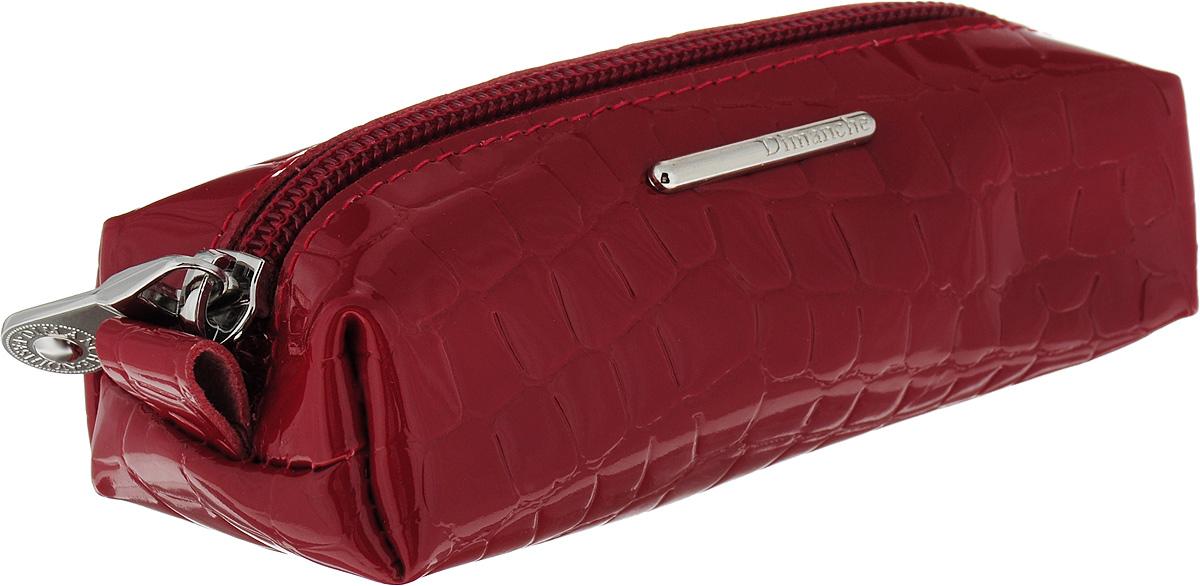 Ключница женская Dimanche Nice, цвет: бордовый. 655/1 ключница женская dimanche nice цвет красный 905