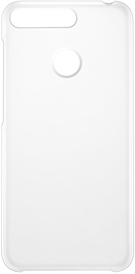 Чехол Honor PC Case для Honor 7A Pro, Transparent paper file document storage case transparent white