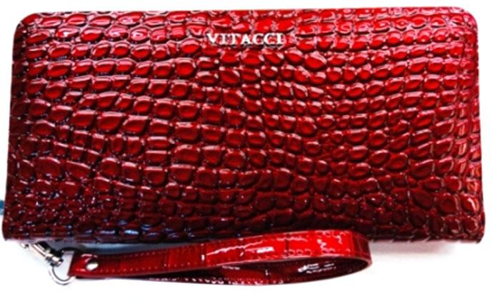 Кошелек женский Vitacci, цвет: красный. HS312