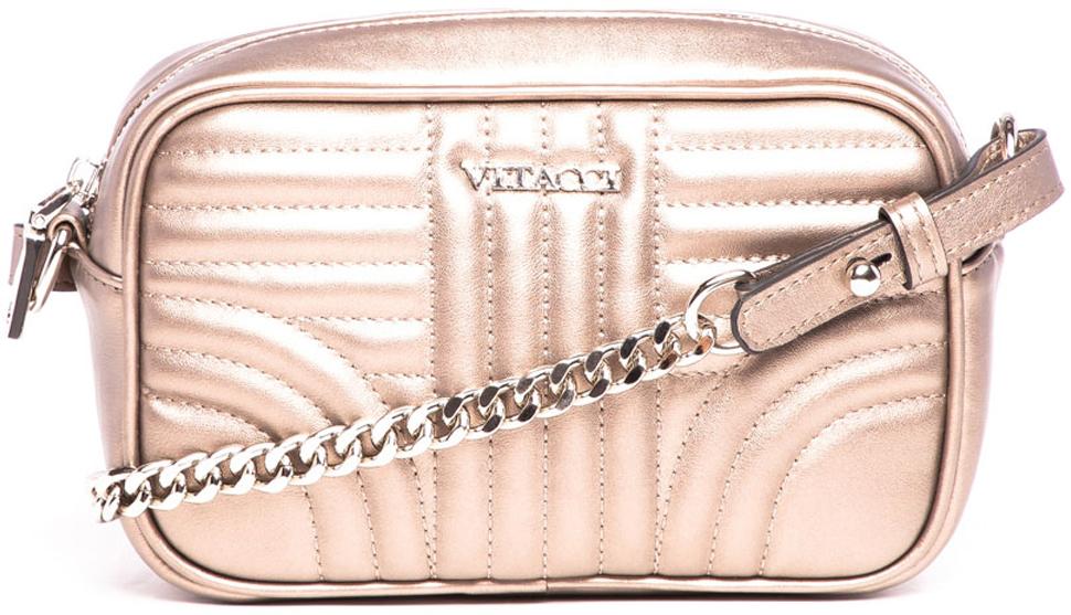 цена Сумка кросс-боди женская Vitacci, цвет: бронзовый. V1302 онлайн в 2017 году