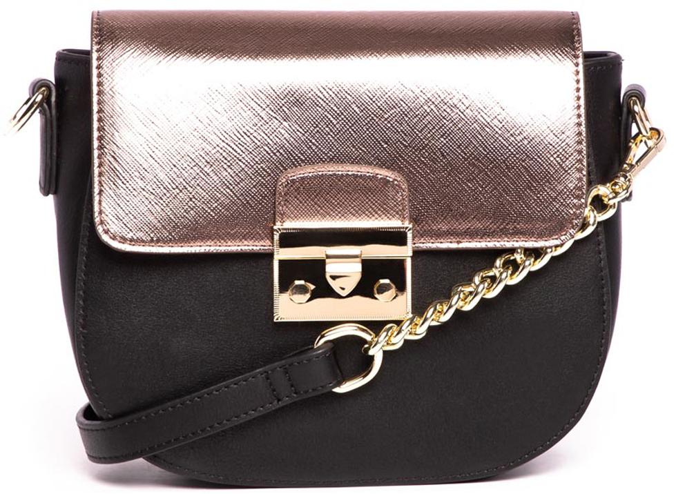 цена Сумка кросс-боди женская Vitacci, цвет: черный. YZ0370 онлайн в 2017 году