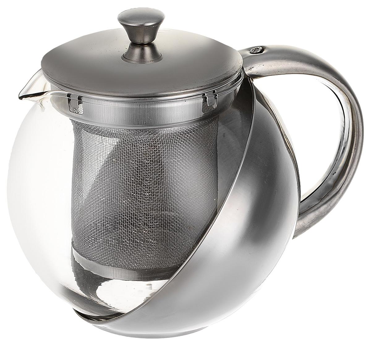 Чайник заварочный BHK, с фильтром, 500 мл заварочный чайник 1 4 л bhk 5420068