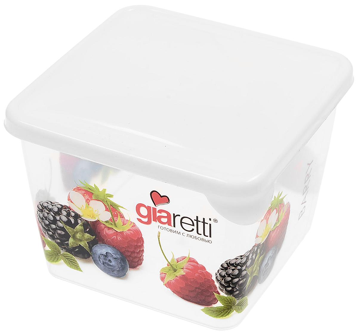 Емкость для продуктов Giaretti Браво, цвет: молочный, 750 мл. GR1065 емкость для продуктов giaretti браво цвет белый прозрачный 900 мл gr1068