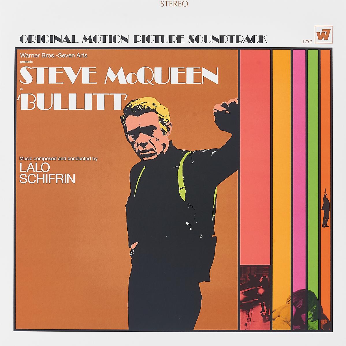 Lalo Schifrin. Steve McQueen In Bullitt (LP) цена и фото