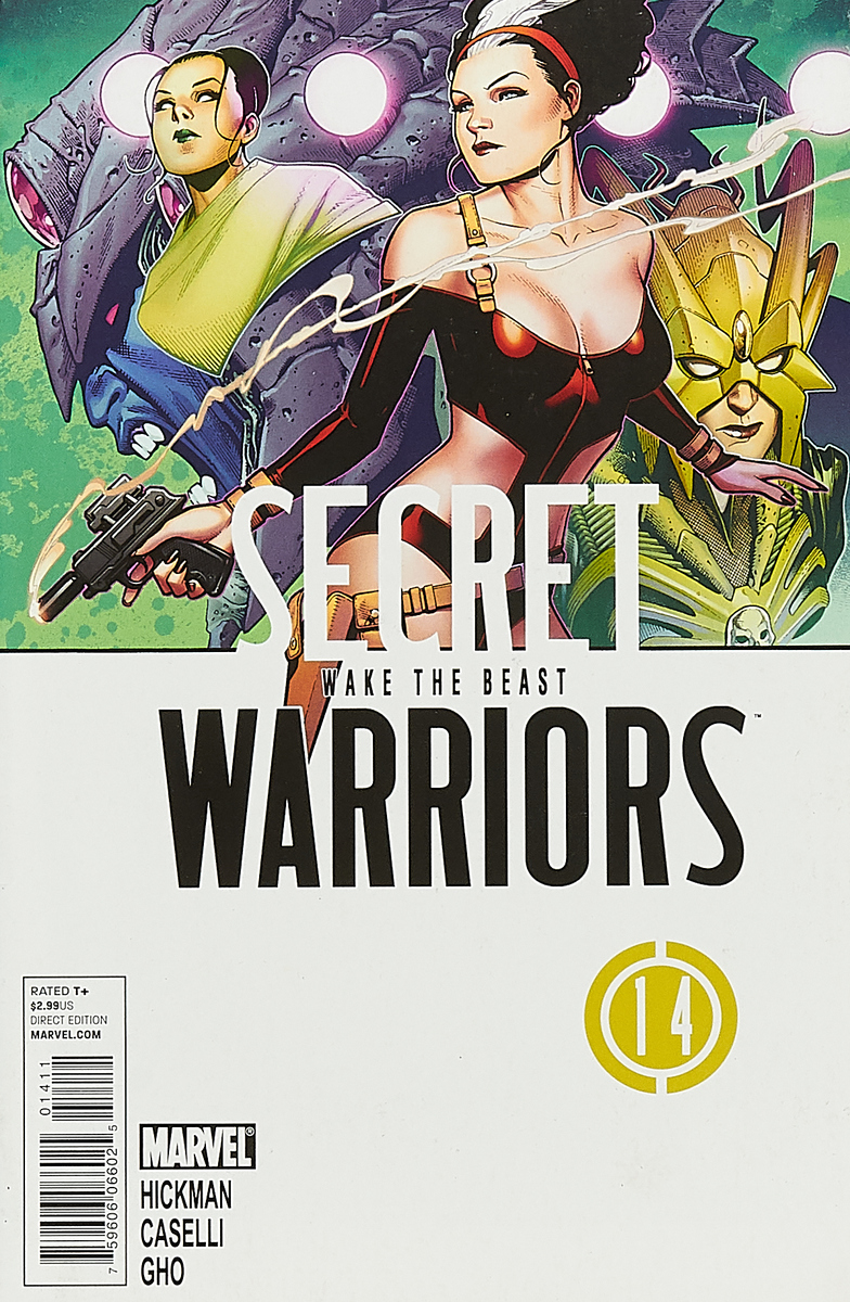 Jonathan Hickman, Stefano Caselli, Sunny Gho Secret Warriors #14