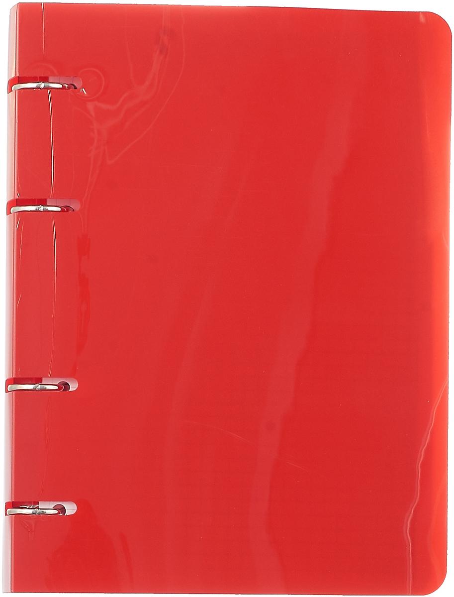 Бриз Тетрадь 80 листов в клетку цвет красный цена в Москве и Питере