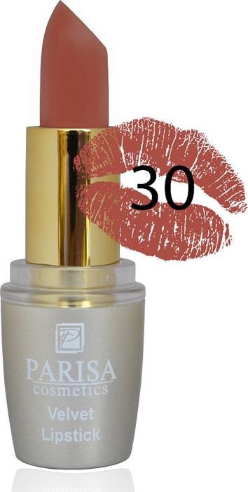 Фото - Parisa Помада для губ Mate Velvet, тон №30 красная медь, 3,8 г parisa помада для губ mate velvet тон 54 гранатовый иней 3 8 г