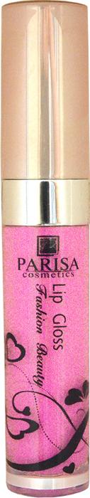 Parisa Блеск для губ LG612, тон №79 розовый, 7 мл