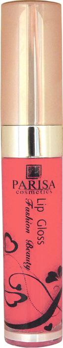 Parisa Блеск для губ LG612, тон №38 морковный, 7 мл