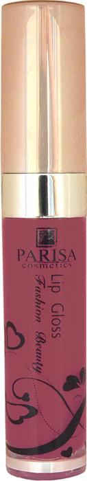 Parisa Блеск для губ LG612, тон №14 шоколад, 7 мл