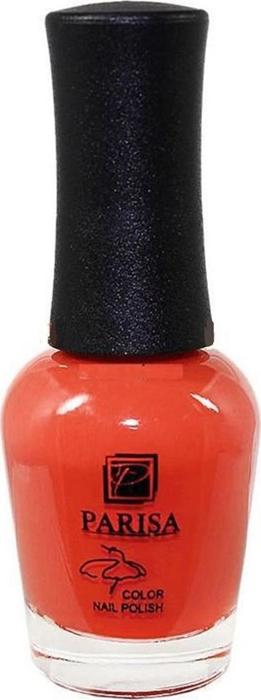 Parisa Лак для ногтей, тон №13 морковный матовый, 16 мл цена в Москве и Питере