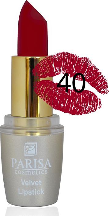 Фото - Parisa Помада для губ Mate Velvet, тон №40 брусничная сладость, 3,8 г parisa помада для губ mate velvet тон 10 персиковый натурель 3 8 г