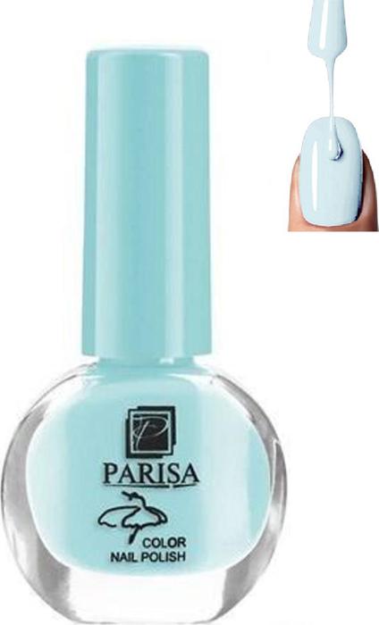 Parisa Лак для ногтей, тон №22 небесно голубой матовый, 7 мл parisa лак для ногтей тон 31 фиалковый матовый 7 мл