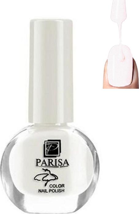 Parisa Лак для ногтей, тон №01 белый матовый, 7 мл parisa лак для ногтей тон 31 фиалковый матовый 7 мл