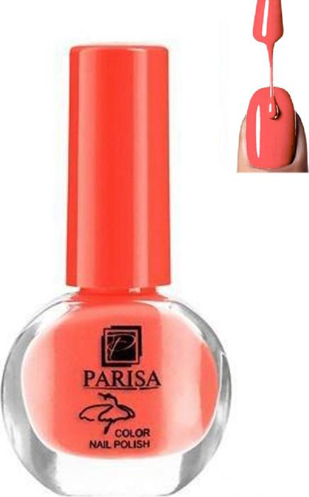 Parisa Лак для ногтей, тон №18 кораллово-персиковый матовый, 7 мл parisa лак для ногтей тон 31 фиалковый матовый 7 мл