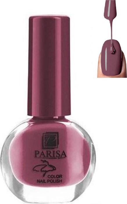 Parisa Лак для ногтей, тон № 27 шоколадно-бордовый матовый, 7 мл parisa лак для ногтей тон 31 фиалковый матовый 7 мл
