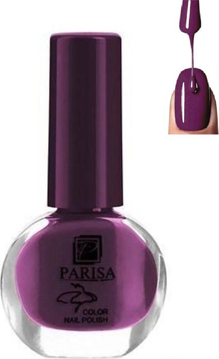 Parisa Лак для ногтей, тон №30 фиолетово-баклажановый матовый, 7 мл parisa лак для ногтей тон 31 фиалковый матовый 7 мл