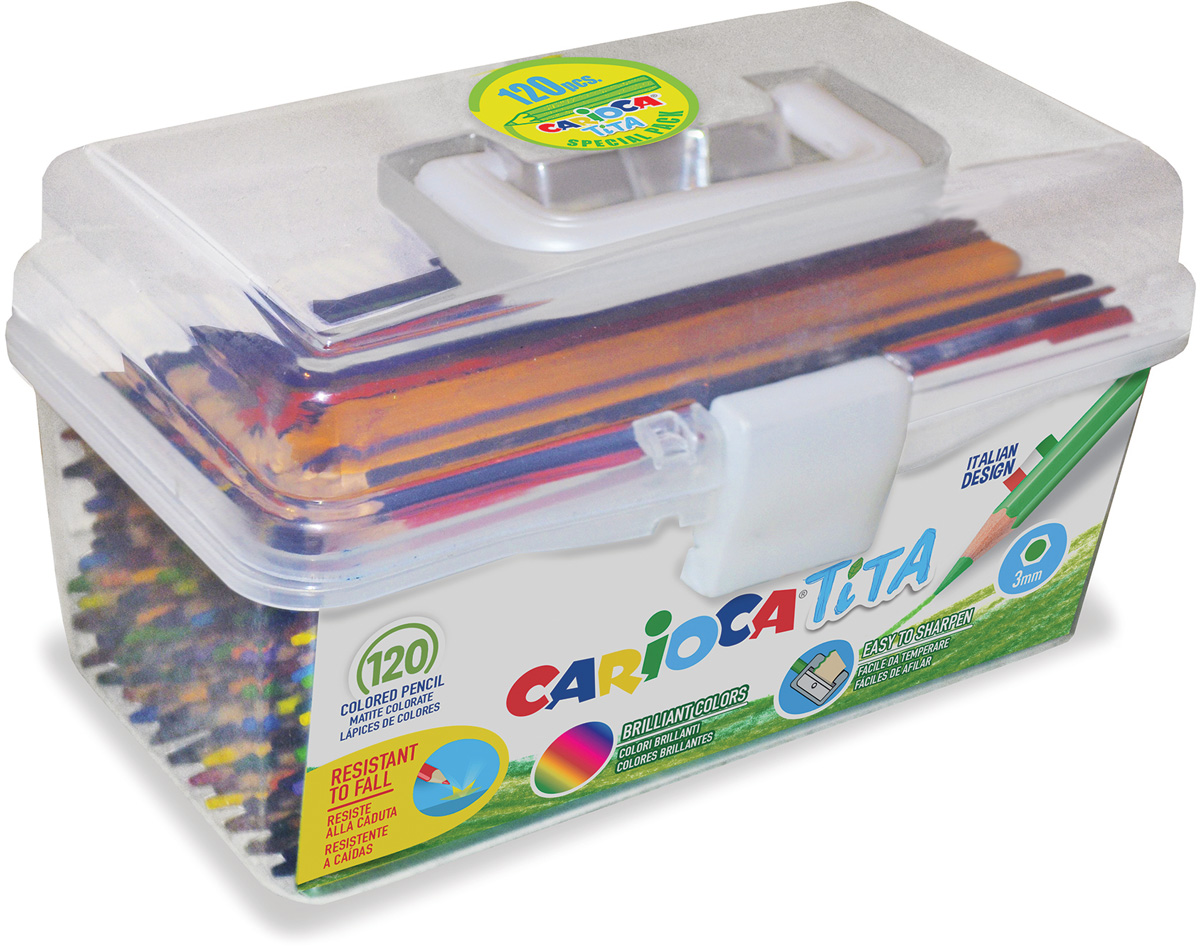 Carioca Набор цветных карандашей Tita 120 шт