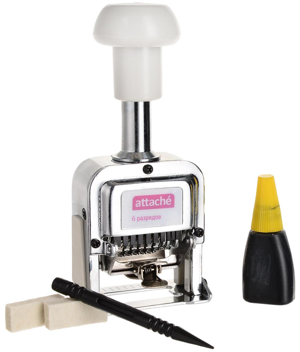 Attache Нумератор шестиразрядный 4,8 мм