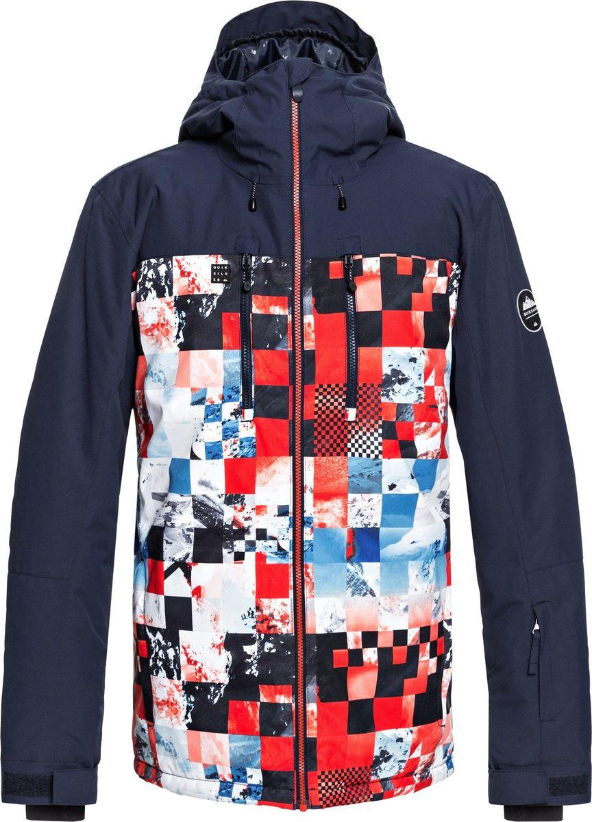 купить Куртка Quiksilver Mission BLCK JK по цене 15990 рублей