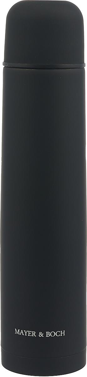 """Термос """"Mayer & Boch"""", цвет: черный, 1,2 л. 27617"""