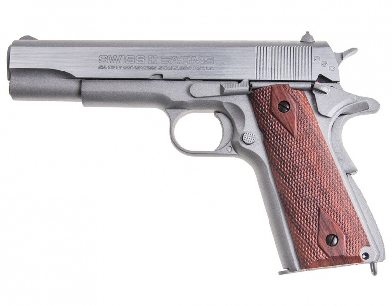 "Пистолет пневматический Swiss Arms ""SA1911 SSP"", 4,5 мм"