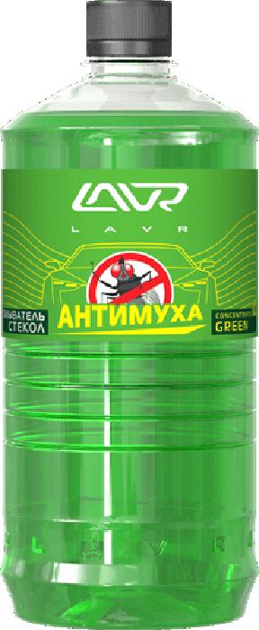 Фото - Омыватель стекол LAVR Green, анти-муха, концентрат, 1 л омыватель стекол lavr orange анти муха концентрат 120 мл