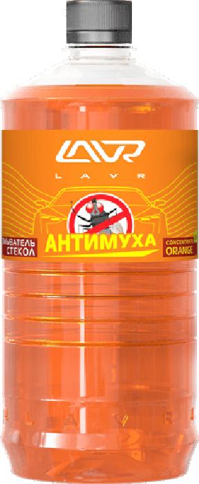 Фото - Омыватель стекол LAVR Orange, анти-муха, концентрат, 1 л омыватель стекол lavr orange анти муха концентрат 120 мл