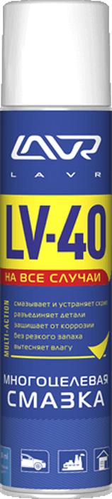 Многоцелевая смазка LAVR LV-40, 400 мл многоцелевая смазка lavr lv 40 210 мл