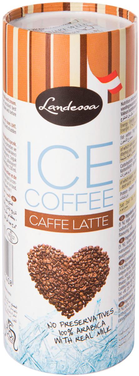 Landessa Кофейный напиток Ice Coffe Латте с молоком, 230 мл