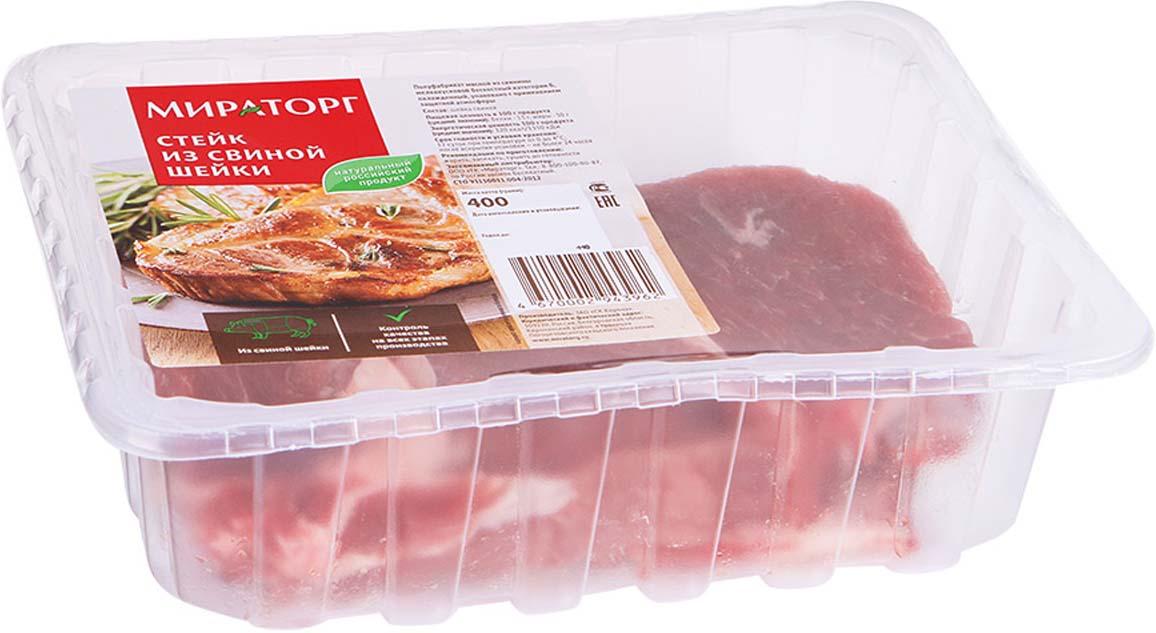 Стейк из свиной шейки Мираторг, 400 г