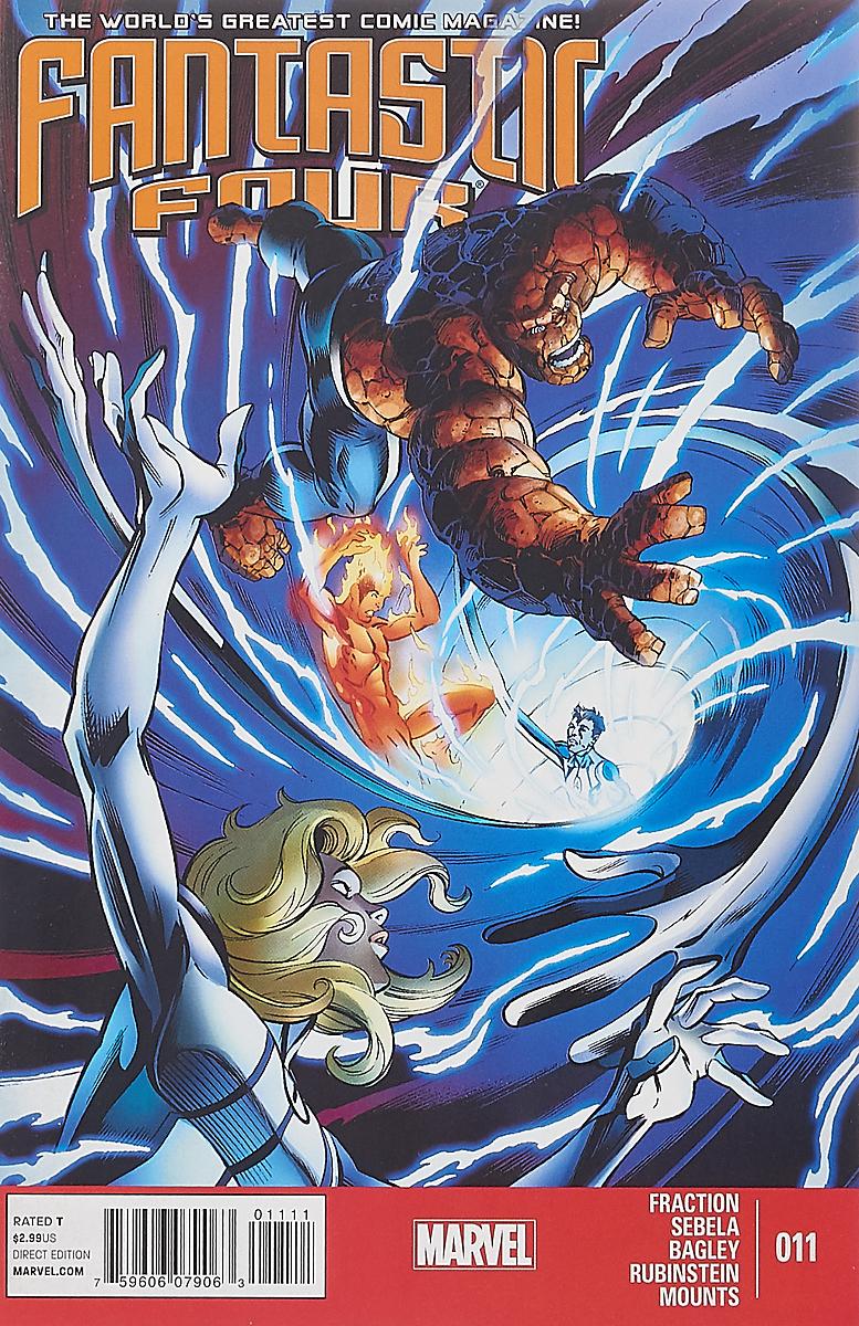 Matt Fraction, Christopher Sebela, Mark Bagley Fantastic Four #11