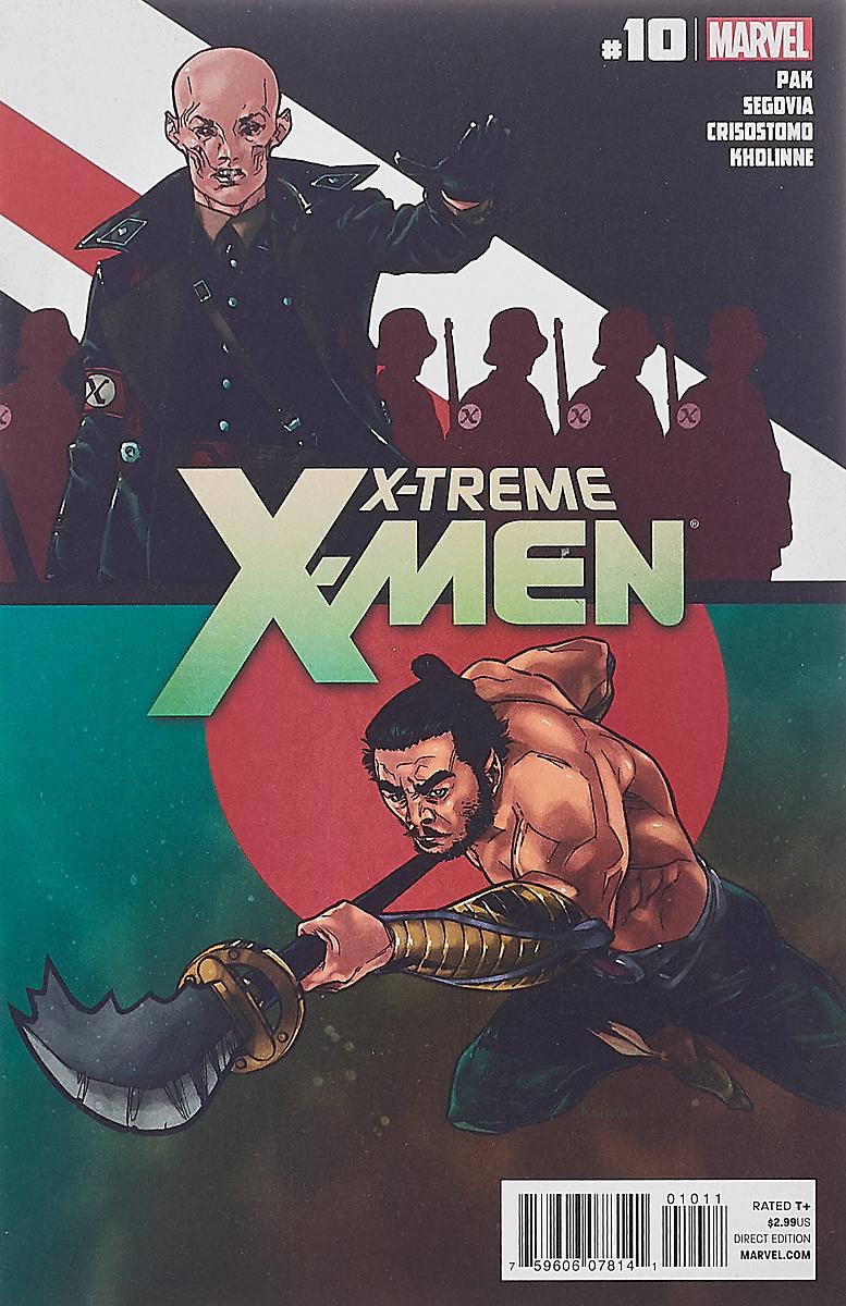 Greg Pak, Stephen Segovia, Dennis Crisostomo, Jessica Kholinne X-Treme X-Men #10
