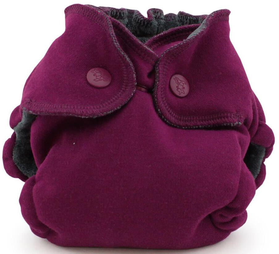 Kanga Care Многоразовый памперс EcoPosh Organic Newborn Boysenberry 0-5 кг памперсы 0 для новорожденных