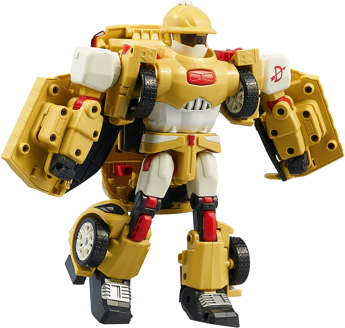 Tobot Трансформер D цвет желтый tobot трансформер эволюция y озвученный 301011